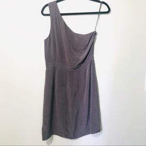 J. Crew One Shoulder Cocktail Dress